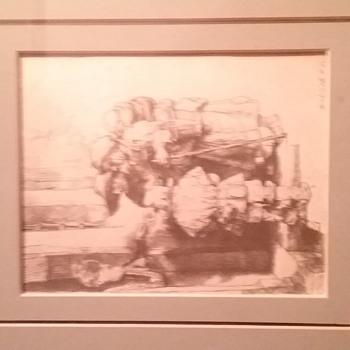 Antique artwork