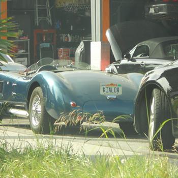 Old British sports car - Classic Cars