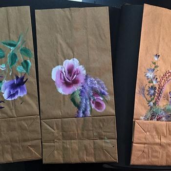 Vintage  Brown Paper bag  Art - Fine Art