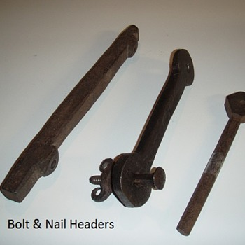 Bolt Headers - Tools and Hardware