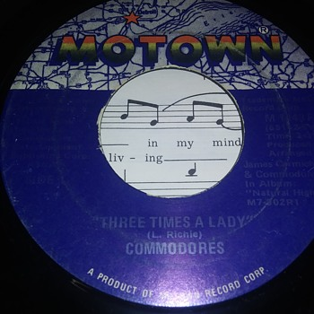 The Commodores....On 45 RPM Vinyl - Records
