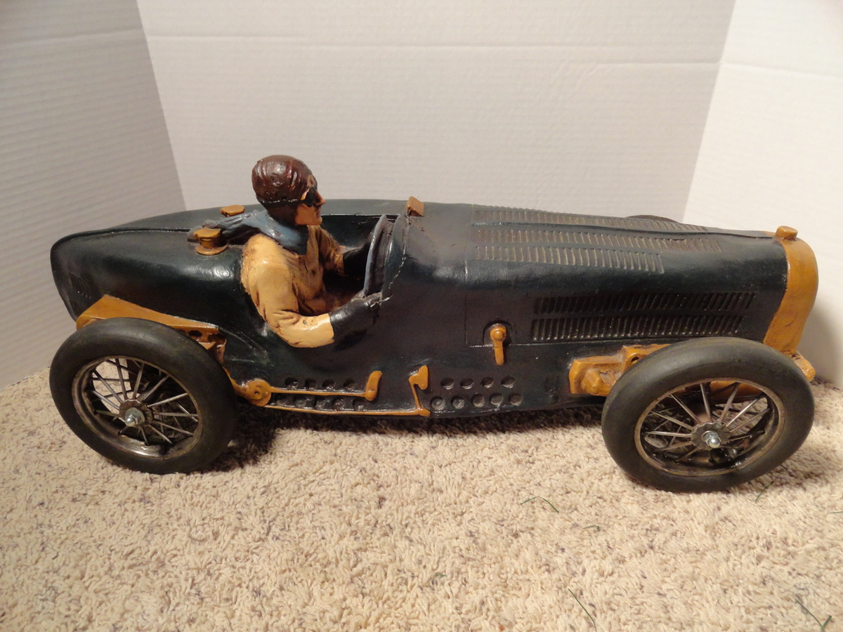 Large Bugatti Race Car Model | Collectors Weekly