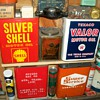 Texaco Valor and other 2 gallon cans