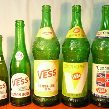 More Vess bottles - Bottles