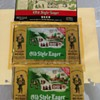 Old Style Unrolled beer can SHEETS