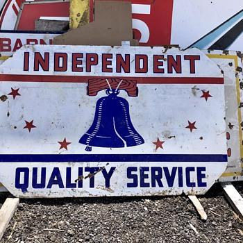 Independent Gasoline - Signs