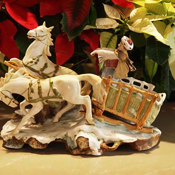 Christmas Sleigh Lamp Base - Figurines