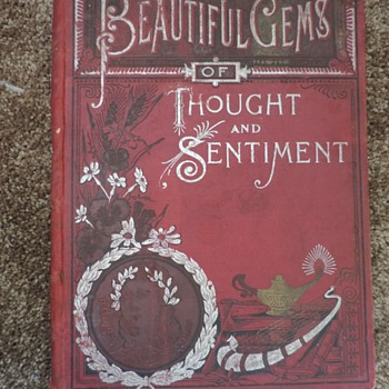 Beautiful Gems of Thought and Sentiment - Books