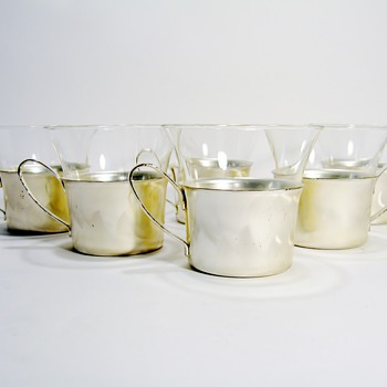 SCHOTT & GEN MAINZ JENA ER GLAS & WMF IKORA - GERMANY - Art Deco