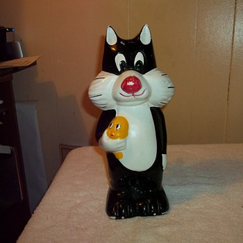 SYLVESTER & TWEETY BANK - Coin Operated