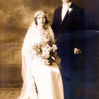 Grandparents Wedding Day Photo