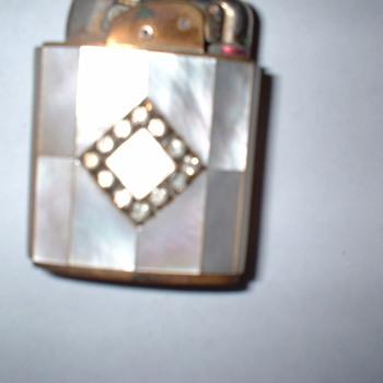 Art Deco Lighter - Tobacciana