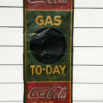 Coca Cola Gas Today Sign - Coca-Cola