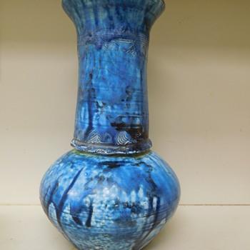 Large Raku Pottery Signed Artist-  Identify name?  - Pottery