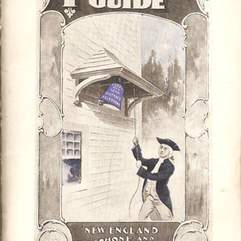1898 New England Tel & Tel Telephone Guide - Telephones