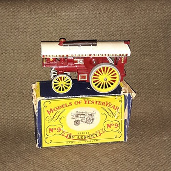 Marvin's Marvelous Magical Matchbox Monday Models of Yestery Year Y-9 Fowler Big Lion Showman Engine 1958 - Model Cars