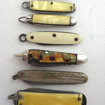 More Folding Knife Pocket Watch Fobs - Pocket Watches
