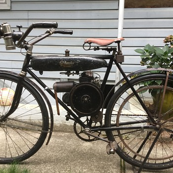 1918 cyclomotor bicycle - Motorcycles