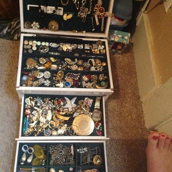 Junk Drawer of Jewelry - Costume Jewelry