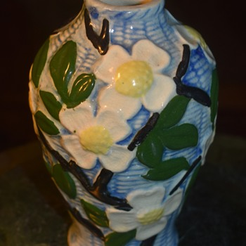 Banko?  Made in Japan Dogwood Vase - Asian