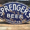 Sprenger's Beer Porcelain Sign