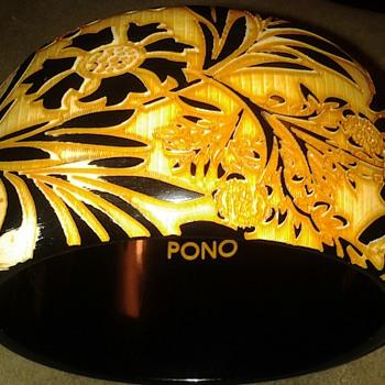 CARVED PONO BRACELET - Costume Jewelry