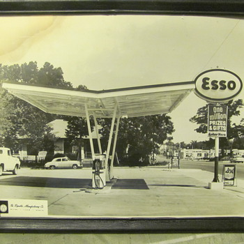 various oil co. station canopy designs - Petroliana