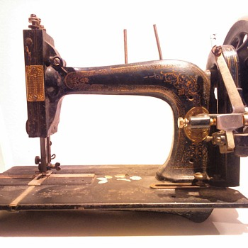 Unidentified sewing machine