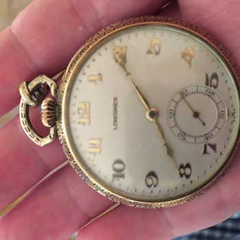 Slim open face - Pocket Watches