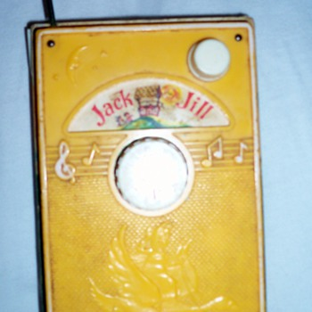 "1968 FISHER PRICE ""Jack And Jill"" TV Radio Music Box  - Music Memorabilia"