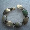 Sterling Jade Bracelet