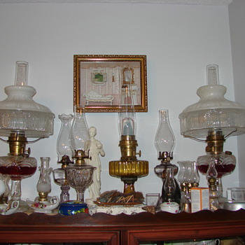 Part of my collection of lamps - Lamps
