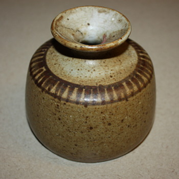 Small Vintage Pottery Vase
