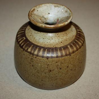Small Vintage Pottery Vase - Pottery