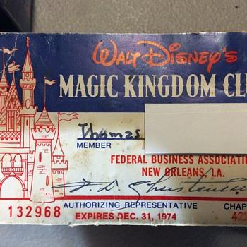 Thomas visits the magic kingdom ,Again ! - Advertising