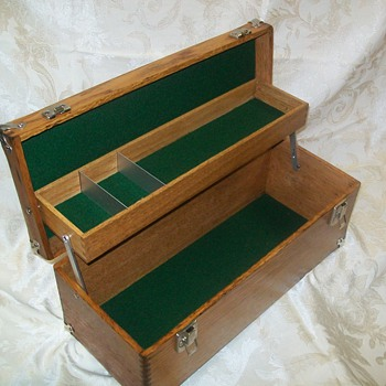 Early 1900`s Union Cantilever tool box - Tools and Hardware