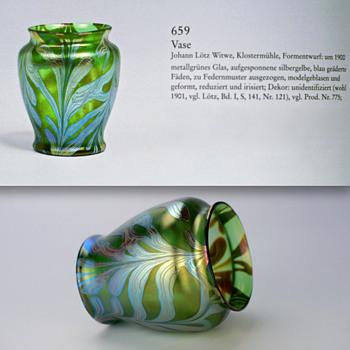 Loetz PG 2/450 Vase c. 1900 - Art Glass