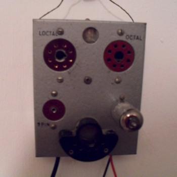 Tube tester. - Electronics