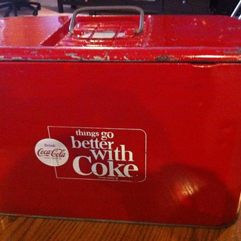 1960's Coca Cola airline cooler - Coca-Cola