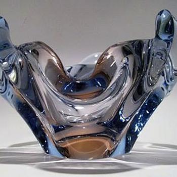 1955 SKRDLOVICE Glass - Pattern 5563 - Art Glass