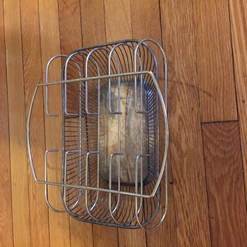Graham silver plated rack tray display, not sure???
