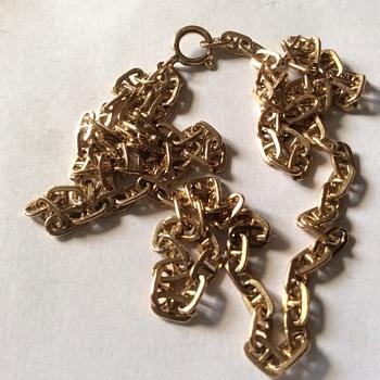 Vintage 14 k gf necklace  - Fine Jewelry