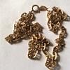 Vintage 14 k gf necklace