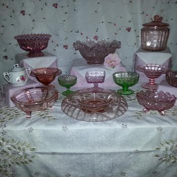 Depression Glassware - Glassware