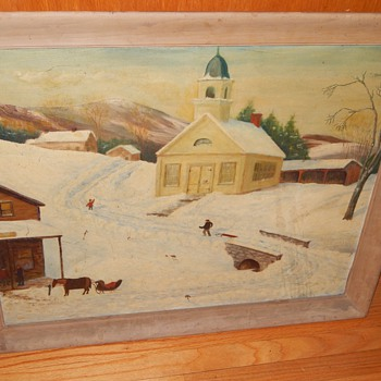 Is this Grandma Moses?