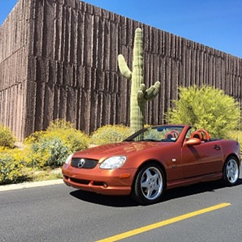 Rare Designo 2000 Mercedes SLK Convertible Kompressor - Classic Cars