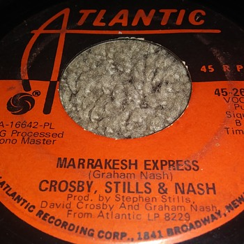 Crosby, Stills And Nash...On 45 RPM Vinyl - Records