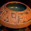 Large Decorated Mexican Bowl
