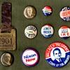 Political Campaign Buttons 1904-1972