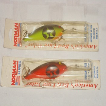 Texaco Fishing Lures